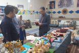 بازدید بخشدار مرکزی از پروژه مرمت آسیاب قدیمی و کارگاه صنایع دستی روستای مبارکه