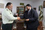 تقدیر از فرمانده انتظامی شهرستان بافق