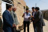 آغاز طرح آمارگیری از ویژگی های مسکن روستایی در روستاهای بخش مرکزی شهرستان بافق
