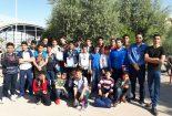 کسب مقام سوم تیم هیات شنای بافق در اولین مرحله لیگ شنای آقایان