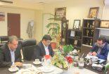 دیدار مدیر آموزش و پرورش بافق با مدیرعامل شرکت سنگ آهن مرکزی
