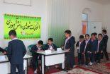 انتخابات شورای دانش آموزی مدرسه پسرانه سما برگزار شد