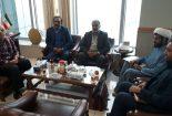دیدار اعضای شورای اسلامی شهر بافق با معاون ناوگان راه آهن جمهوری اسلامی
