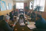 پیگیری احداث و بهسازی محورهای مواصلاتی شهرستان با حضور نماینده و فرماندار بافق در تهران