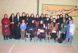 برگزاری المپیاد دختران و مادران روستایی در بافق