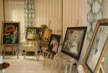 افتتاح نمایشگاه آثار هنرهای تجسمی هنرمندان بافقی در هتل علمدار