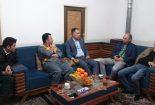 بازدید بخشدار مرکزی از مجتمع معدنی سرب و روی تاجکوئیه