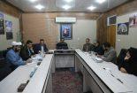 نشست مدیر عامل شرکت سنگ آهن مرکزی بافق با شورای اسلامی شهر