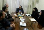 نشست اعضای هیئت ورزش های همگانی با مدیر عامل شرکت سنگ آهن مرکزی بافق
