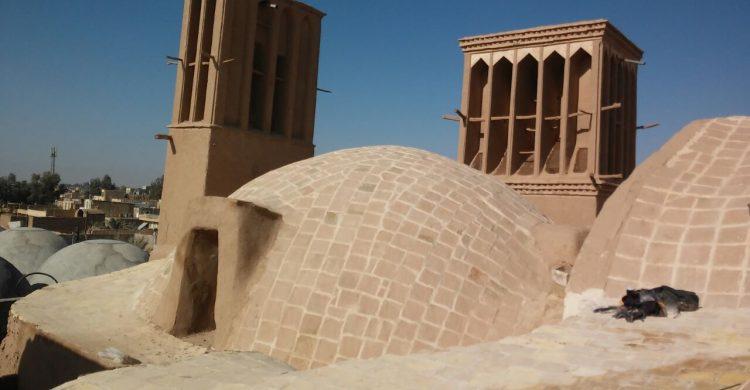 پایان عملیات مرمت وساماندهی  شبستان تاریخی مسجد جامع بافق
