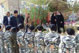 برگزاری یادواره شهدای بافق در پیش دبستانی بشیر