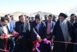 افتتاح پروژه بلوار ولیعصر(عج) بافق با حضور استاندار یزد