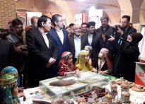 تصاویری از مراسم افتتاحیه نمایشگاه دستاوردهای چهل ساله انقلاب در یزد