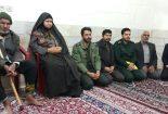دیدار فرمانده سپاه با خانواده شهدا شهرستان بافق