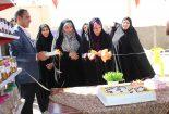 افتتاح کارگاه شیرینی گل رز در بافق