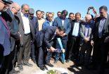 با حضور وزیر صنعت، معدن و تجارت پروژه گندله سازی مجتمع فولاد بافق کلنگ زنی شد