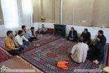 حضور فرماندار و بخشدار مرکزی بافق در جمع اهالی روستای صادق آباد