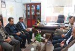 دیدار مسئولان دانشگاه آزاد اسلامی بافق با رئیس کمیته امداد امام خمینی (ره) در هفته احسان و نیکوکاری