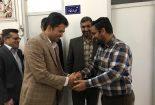 دیدار مسئولین دانشگاه آزاد اسلامی بافق با رئیس و کارکنان بنیاد شهید و امور ایثارگران
