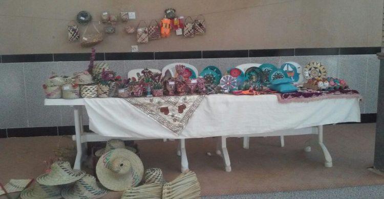 برگزاری نمایشگاه صنایع دستی در روستای باقرآباد