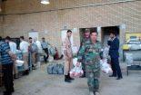 ارتش، سپاه و نیروهای-مردمی دست در دست هم برای آسایش مردم پلدختر+تصاویر
