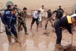 تلاش بی وقفه جوانان بافقی در پلدختر