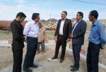 بازدید بخشدار مرکزی به همراه رئیس بنیاد مسکن انقلاب از تعدادی از روستاهای بخش مرکزی