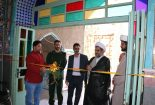 افتتاح نمایشگاه کتاب در آستان مقدس امامزاده عبدالله (ع) بافق