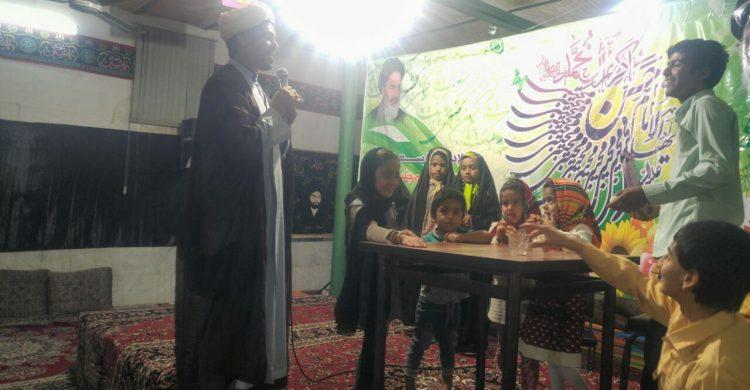 برگزاری جشن میلاد امام حسن مجتبی (ع) در روستای زارکوئیه