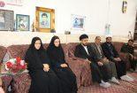 دیدار مسوولان شهرستان بافق با دو تن از خانواده های معظم شهدا