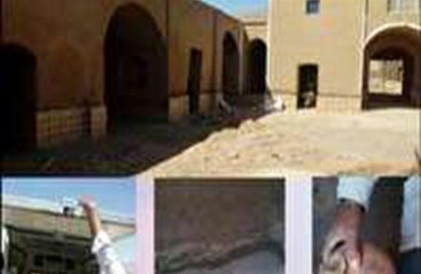مرمت قلعه تاریخی رضاآباد بافق بدون مجوز بوده است