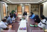 تشکر و قدردانی اهالی دهستان سبزدشت بافق از فرماندار و مدیر عامل شرکت سنگ آهن مرکزی