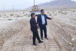 پایان عملیات راهداری محور روستایی  بافق- قطرم