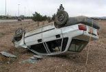 واژگونی یکدستگاه پراید در محور یزد به بافق یک کشته بر جای گذاشت