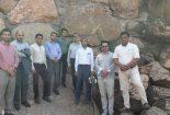 """اعضای شورای شهر اردکان در بازدید از تفرجگاه آبشار: """"شنیدن کی بود مانند دیدن"""""""