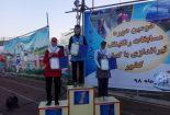 کسب مدال برنز توسط بانوی تیرانداز بافقی در کشور