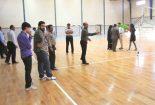 برگزاری مسابقه فریزبی ویژه خدام آستان مقدس امامزاده عبدالله(ع) بافق +تصاویر