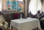 برگزاری جشن تولد امام رضا(ع) در کاروان ۳۴۰۴۳بافق+ تصاویر