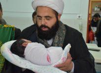 حضور خدام آستان مقدس امام رضا(ع) در بیمارستان حضرت ولیعصر(عج) بافق+تصویر