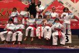 برافراشته شدن پرچم بافق در مسابقات آسیایی کاراته