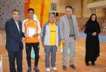 کسب مقام اول مسابقات پرش با گونی توسط احمد خالقدادی