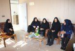 دیدار و خداقوت چند تن از مدیران زن شهرستان بافق با رئیس اداره دامپزشکی