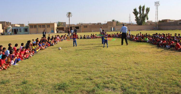 برگزاری المپیاد ورزشی درون مدرسه ای آموزشگاه شهید چمران
