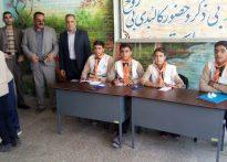 انتخابات شورای دانش آموزی در مدرسه آیت الله شیخ محمد تقی بافقی(تصویری)