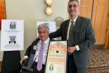 تراب زاده بافقی جایزه مدیریت و رهبری کمیسیون معلولیت های لوس آنجلس را کسب کرد