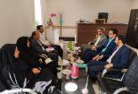 جلسه مشترک رئیس و معاون  اداره  تعاون ، کار و رفاه اجتماعی با مسئولین قضایی شهرستان بافق