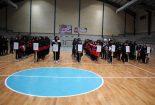 مسابقات هندبال بانوان شهرستان بافق