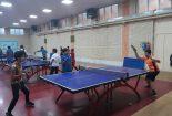 برگزاری مسابقات تنیس روی میز آموزشگاه های ابتدایی پسرانه بافق
