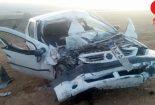 واژگونی خودرو در جاده یزد_بافق