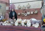 حضور هنرمندان وصنعتگران صنایع دستی شهرستان بافق در نمایشگاه ملی خراسان جنوبی